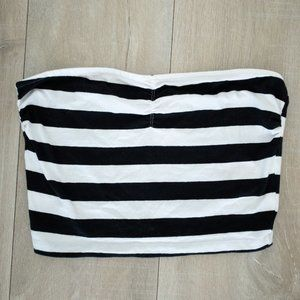 Garage striped tube top B4